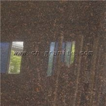 Own Qaurry India Karimnagar Tan Brown Granite Tiles & Slabs, Cheap Price, Hot Sales
