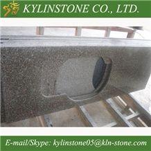 Chinese G664 Granite Countertops, Granite Worktops for Sale, Violet Luoyuan Red Granite Kitchen Countertops