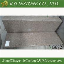 G682 Sunset Gold Granite Countertops,Yellow Rusty Granite Worktops, Yellow Rust Granite Kitchen Countertops