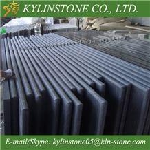 G684 Granite Kitchen Countertops, China Black Granite Worktops, China Pearl Black Granite Kitchen Countertops