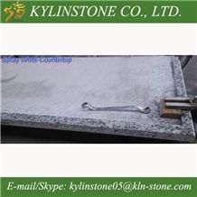 Spray White Granite Kitchen Countertops, Seawave White Granite Worktops