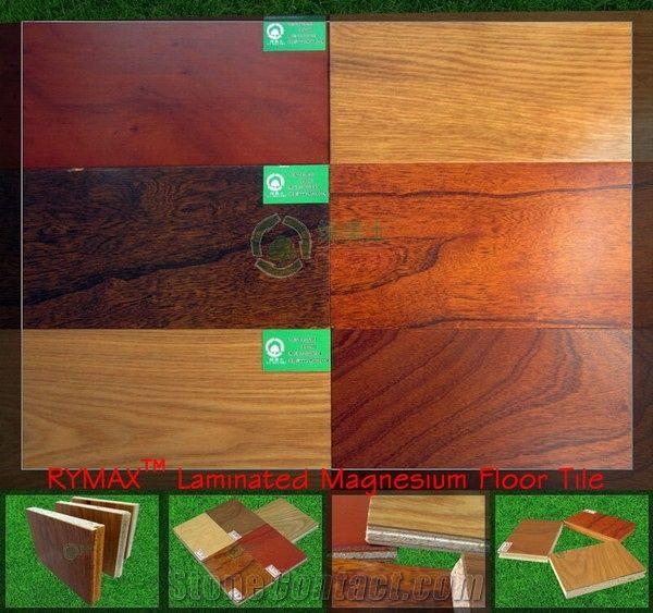 Rymax Laminated Magnesium Floor Tile Waterproof Floor Tile