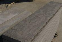 Brownstone/Brown Wave Sandstone Coping &Steps, Brown Sandstone Pool Coping