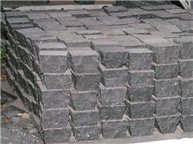 Black Sandstone Paving Cobbles, Pavers