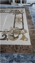 Waterjet Pattern, Marble Waterjet Medallion Tiles, Lowest Price