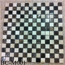 Polished Marble Wall/Floor Mosaic Tiles, Bc-M001