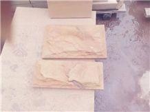 Pink Sandstone Mushroom Stone Wall Cladding Wall Stone Corner Stone Rustic Surface