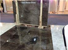 Batu Ottoman Brown Marble Polished Slabs, Tiles