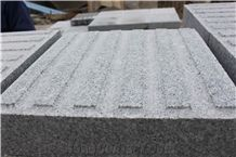 G603 China Grey Granite Paver Blind-Stone Tactile Bianco Sesame Exterior Landscaping Pavers Stone