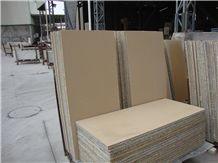 Yellow Sandstone Honeycomb Composite Panels for Exterior Cladding