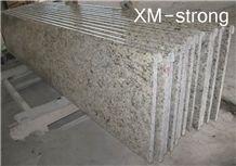 Beautiful Giallo Ornamental Granite Stair,Giallo Ornamental Granite,Giallo Ornamental Granite Slab