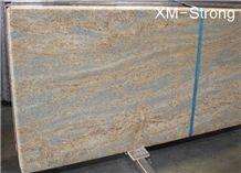 Kashimir Gold Granite Tiles & Slabs, Granite Floor/Wall Covering,Kashimir Gold Granite Slabs for Floor Covering