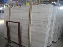 China White Serpeggiante/White Wood/Athens White Marble White Wood Veins /Chenille White Wood Grain/ Oak White Marble Marble Slabs & Tiles