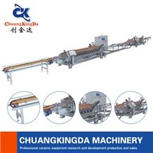Automatic Dry Squaring and Chamfering Machine for Wall Tiles Made in China