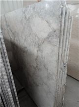 Iridescent Cloud Marble Slabs & Tiles, China White Marble
