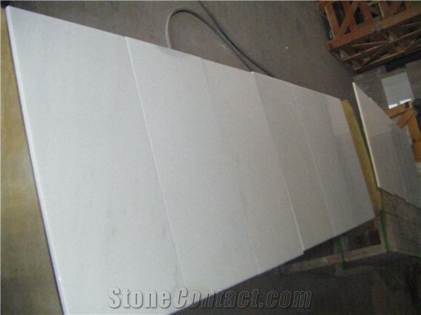 Thososs White Marble Slabs Tiles China