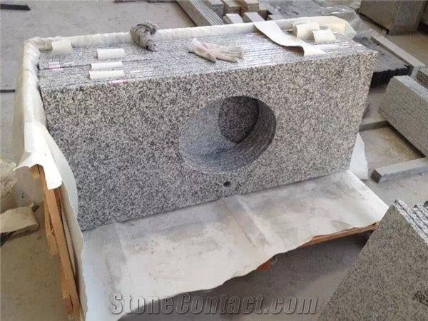 bathroom counter tops. China Bianco Sardo G623 Bathroom Vanity Tops Silver Grey Countertops -Kx, Granite Counter