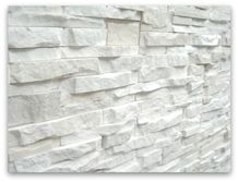 Angel Stackstone Panel, White Limestone Cultured Stone, Wall Cladding