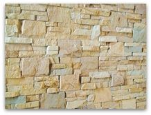 Arizona Stackstone Panel, Yellow Sandstone Wall Cladding, Cultured Stone Viet Nam