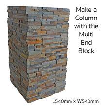 Deco Block Mimosa, Multicolor Slate Columns Gate Column & Fence Viet Nam