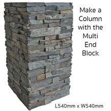Roxstone Deco Block, Grey Quartzite Gate Columns Viet Nam