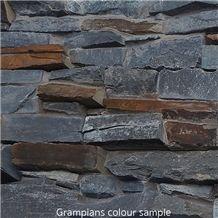 Roxstone Dry Stone Z Panels, Grey Quartzite Building Stone, Wall Cladding Viet Nam