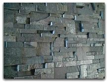 Roxstone Stackstone Panels Tennessee, Grey Quartzite Wall Cladding Cultured Stone Viet Nam
