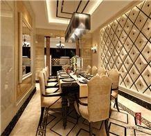 Dark Emperador Marble Heavy Border Work Saree New Border Design Saree Marble Flooring Border Designs