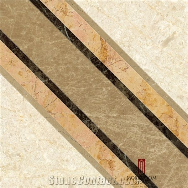 Spain Beige Marble Stone Tiles Crema Marfil Marble Water