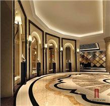 Turkey Cream Ultraman Marble Polished Marble Tiles & Slab Marble Floor Covering Tiles Marble Wall Tiles Marble Skirting, Turkey Beige Marble