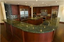 Verde Fantastico Quartzite Kitchen Countertop, Green Quartzite Brazil Kitchen Countertop