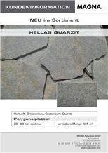 Petra Karistos Quartzite Polygonal Flagstone, Grey Greece Quartzite Irregular Flagstone