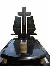 Rustenburg Black Granite Monument & Tombstone