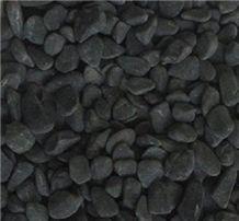 Dark Grey Tumbled Pebbles Stone, Grey Limestone Viet Nam Pebble & Gravel