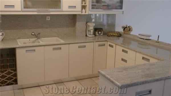 Kashmir White Granite Kitchen Countertops White Granite India Vanity Tops From Greece Stonecontact Com