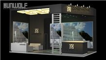 Booth Design and Fabrication for Stone Fair