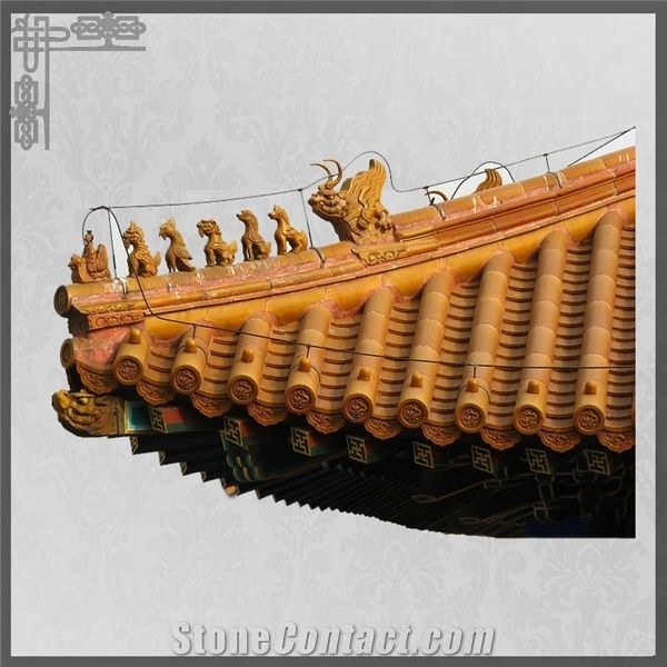 Chinese Roof Tile For Ancient Buildings Roof Materials