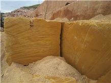 Felsite Block (Yellow/Pink), Ararat Yellow Felsite Block