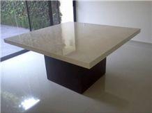 Crema Cordoba Marble Table Top