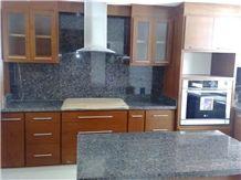 Granito Cafe Boreal Kitchen Countertop, Brown Granite Kitchen Countertop Brazil