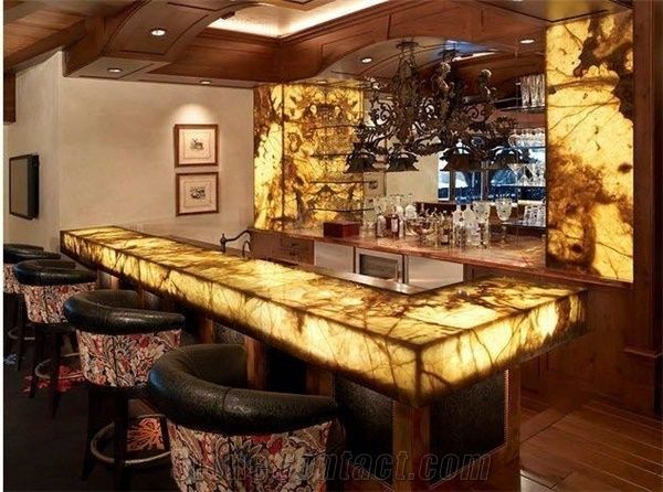 Translucent Backlit Onyx Countertops From Mexico