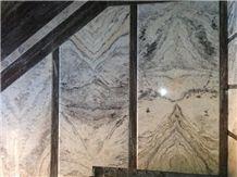 Silver Fusion Travertine Tiles & Slabs, Grey Travertine Tiles & Slabs Iran