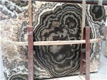 Black Fantastic Onyx Tiles and Slabs