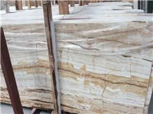White Fantastic Onyx Tiles and Slabs