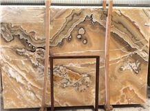 Yellow Fantastic Onyx Tiles and Slabs
