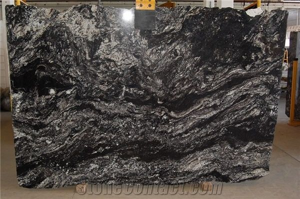 Black Thunder Granite Slabs From Brazil Stonecontact Com