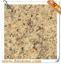 Giallo Nova Venecia, Brazil Yellow Granite Slabs & Tiles,Big Flower