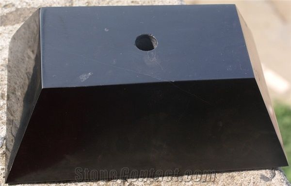 China Black Marble Trophy Base Stone Stonecontact Com