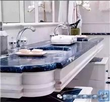 Beautiful Stone Bath Tops 1-Blue Marble Bath Tops