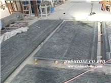 Black Granite Wall Reliefs